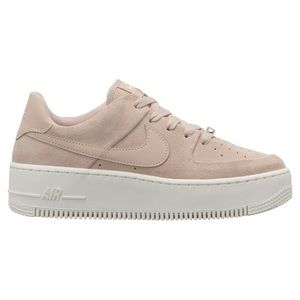 Light Pink Nike Air Force Ones